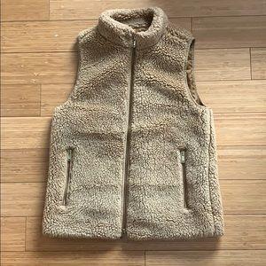 JCrew Teddy Vest